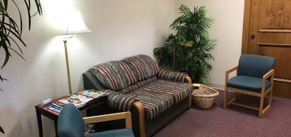 """""""A comfortable and pleasing waiting area for you!"""""""""""